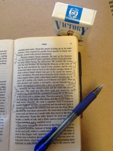 My annotated copy of 1984