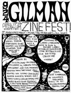 GilmanZineFestFlyer