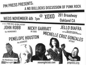 Punk Panel Nov 4th newest