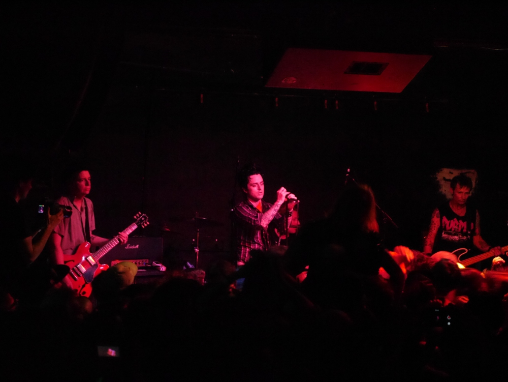 Spitboy Rule Review of Green Day's Return to 924 Gilman